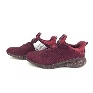 Adidas AlphaBounce Mens Shoes Suede Maroon LEA